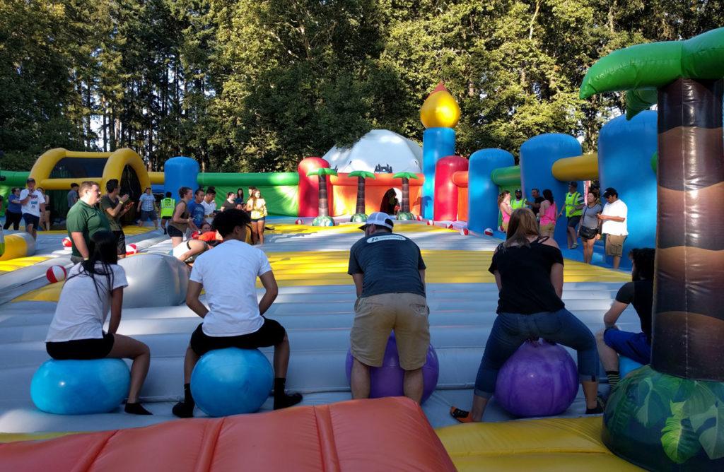 Big Bounce Hippety Hop Race