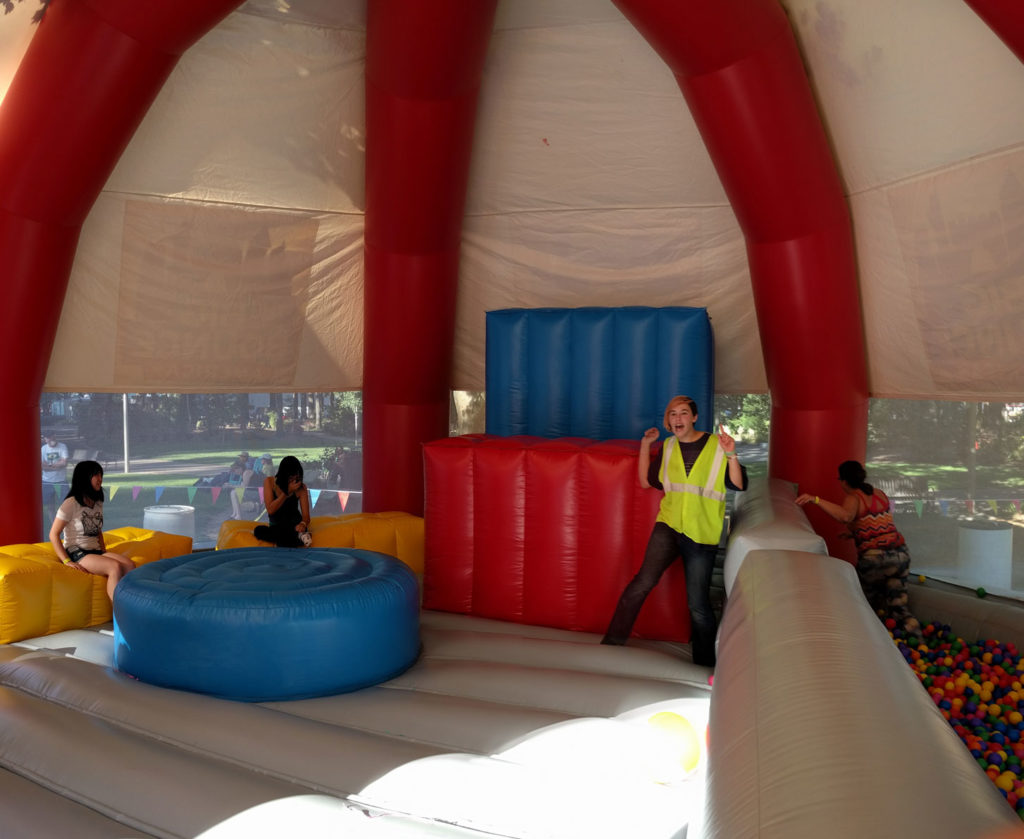 Big Bounce Chill-out Area