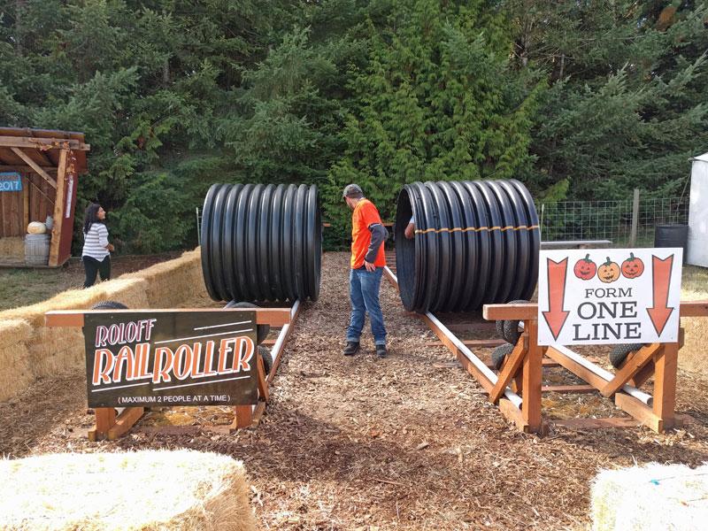 Roloff Rail Roller